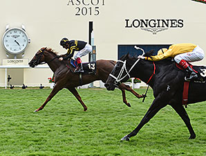 Undrafted wins the 2015 Diamond Jubilee at Royal Ascot.