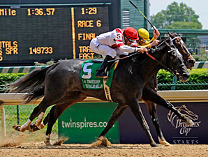 Unrivaled Belle Tops Five-Horse Phipps Field