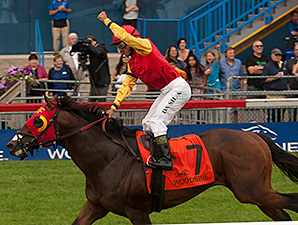 Up With the Birds Swoops to Nijinsky Victory