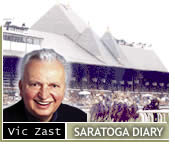 Saratoga Diary: Free Parking and Air Conditioning