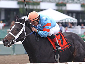 Visionary Ruler wins the 2012 Jersey Juvenile.