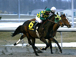 Vow to Wager (#6) wins the 2010 John Battaglia Memorial via dq.