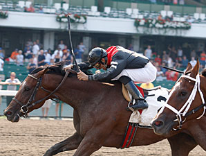 Way With Words wins the 2010 Blue Sparkler Stakes.