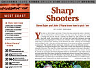 West Coast Regional: Sharp Shooters
