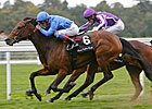 White Moonstone Shines in Fillies' Mile