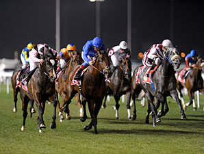 Wigmore Hall (left) wins the 2011 Jebel Hatta.