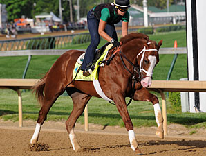 Mylute, Will Take Charge in Preakness Works