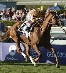 Wise Dan Takes Bc Mile In Course Record Time Bloodhorse Com