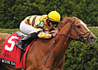 Wise Dan Sensational in Saratoga Turf Work