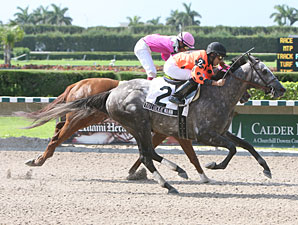 You Luckie Mann wins the 2009 Unbridled.