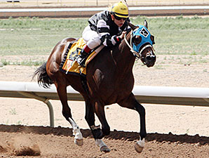 You've Been Duped wins the Totah Stakes.