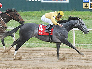 Z Rockstar wins the 2014 Cherokee Nation Classic Cup Stakes.