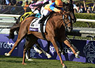 Game Zagora Prevails in Filly & Mare Turf