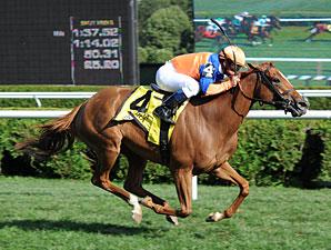 Zagora wins the 2011 Diana.