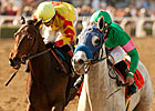 Santa Anita Oaks Pits Zazu, Turbulent Descent