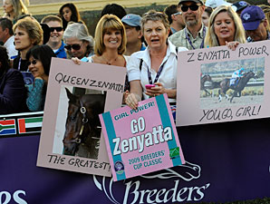 Breeders' Cup TV Numbers Flat