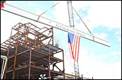 Churchill Celebrates Construction Progress with Topping Off Ceremony