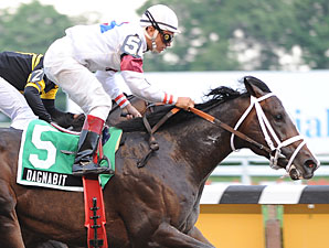 Tremont winner Dagnabit is looking to keep his record perfect in his third start.