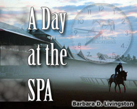 A Day At The Spa: Aug. 18, Shoeing Octave