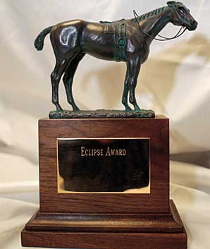 Horse of the Year, Eclipse Awards Tonight