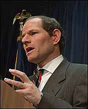 Spitzer Calls Ward, Says NYRA Investigation Not Political