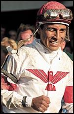 Belmont Winning Jockey: Professional Grade