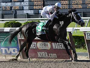 Looky Yonder upset the heavily favored Dream Rush in the Vagrancy (gr. II) May 25 at Belmont.