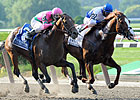 Wagering, Attendance Up on Met Mile Card