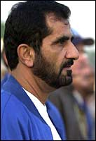 Sheikh Mohammed Gives $5 Million to Keeneland Fund for Red Cross
