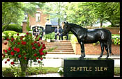 Seattle Slew Honored at Graveside Remembrance