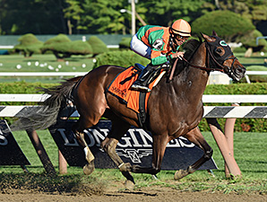 So Lonesome wins the Albany Stakes.