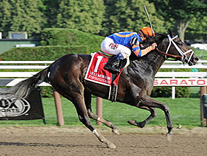 Stopchargingmaria wins the CCA Oaks.