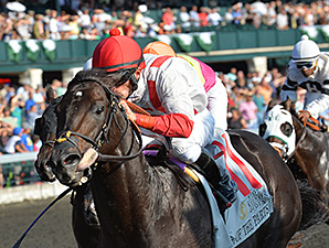 Sumoftheparts wins at Keeneland.