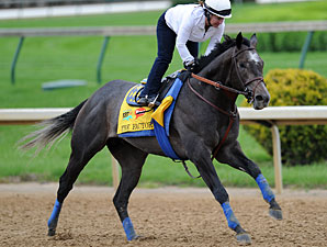 Baffert Happy With The Factor's Outside Post