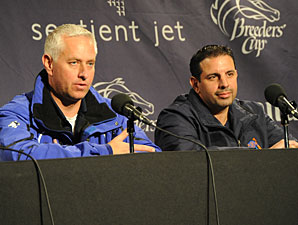 Pletcher, Repole Still Confident in Uncle Mo