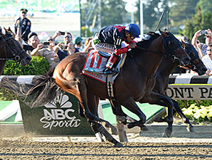 Tonalist Denies 'Chrome' Crown in Belmont