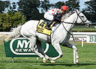 Za Approval, Toasting Get Belmont Stakes Wins