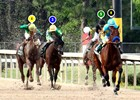 2015 Arkansas Derby Race Sequence
