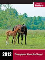 2012 Thoroughbred Mares Bred Report
