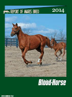2014 Report of Thoroughbred Mares Bred