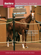 2015 Auctions Digest: A Guide to North American Thoroughbred Sales