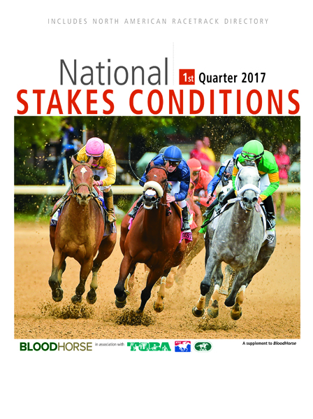 National Stakes Conditions Book 1st Quarter 2017