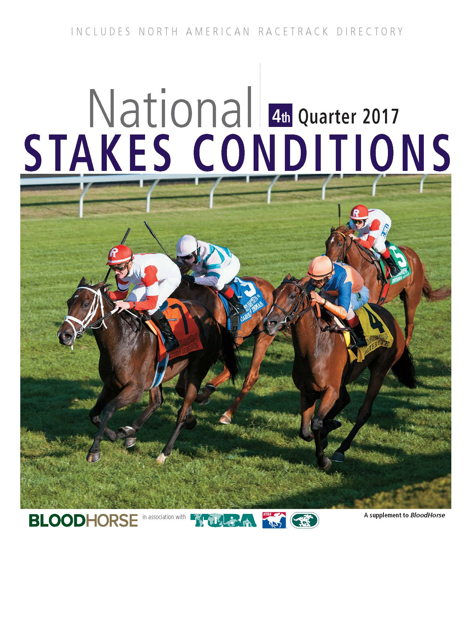 National Stakes Conditions Book 4th Quarter 2017