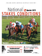 National Stakes Conditions Book 1st Quarter 2015