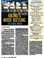 Racing's Mixed Blessing: 2013 Purse Review