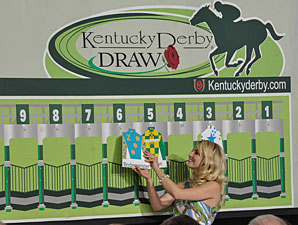 Derby Draw: Favored Bodemeister in Post 6