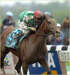 Eclipse Award: Afleet Alex, 3-Year-Old Male