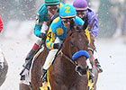 'Pharoah' Speedy in First Workout After Rebel