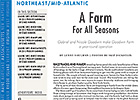 NE/MA Regional: A Farm For All Seasons