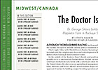 Midwest/Canada Regional: The Doctor Is In